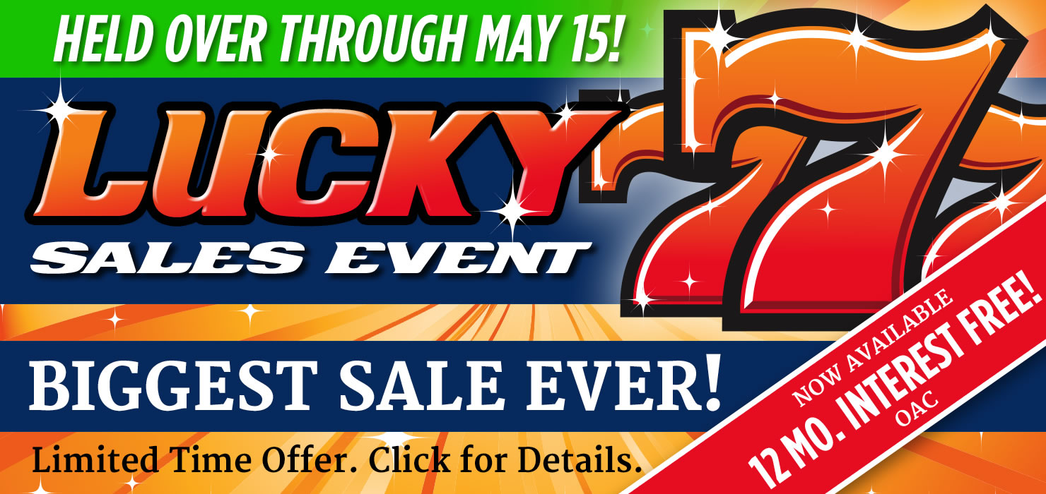 Lucky 7 Sales Event