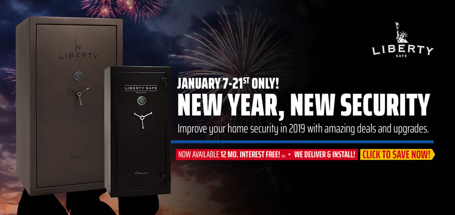 NEW YEAR, NEW SECURITY SALE