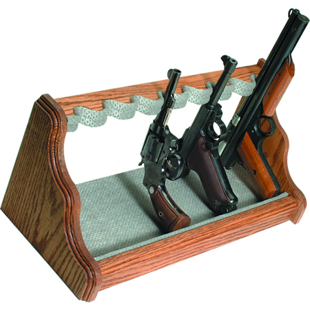 Oak Pistol Racks
