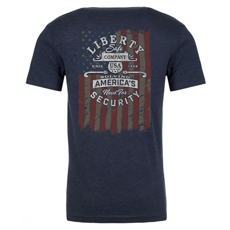 Liberty Patriot Blue T-Shirt